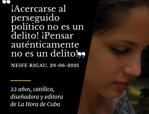 Neife Rigau | 22 años, católica y diseñadora