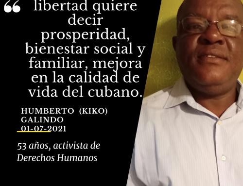 Humberto (Kiko) Galindo | 52 años, activista de Derechos Humanos